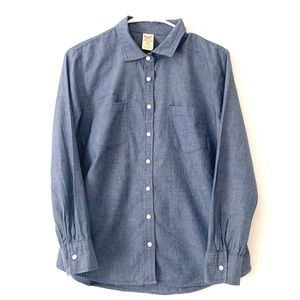 Faded Glory Blue Button Down Shirt 💙